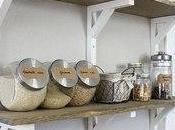 étagères élégantes pour votre petite grande cuisine
