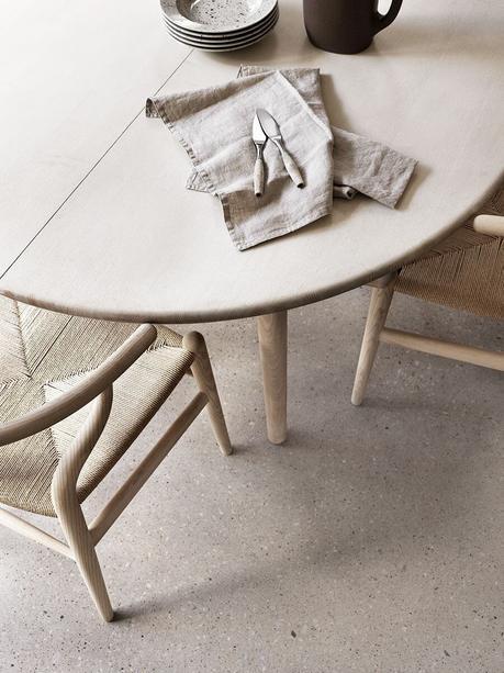 Idées déco pour une ambiance scandinave très chic dans la salle à manger sur @decocrush - www.decocrush.fr