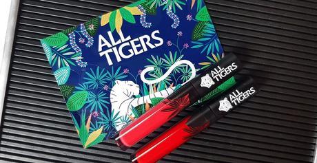 Mes 1 ers rouges à lèvres liquides Vegan  Par All Tigers