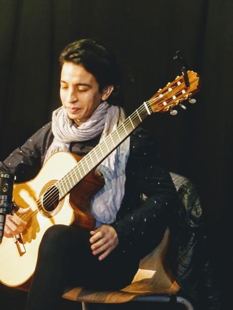 Juan-Manuel Vazquez à la Fabrique à Paroles, Paimpol, le 13 janvier 2019