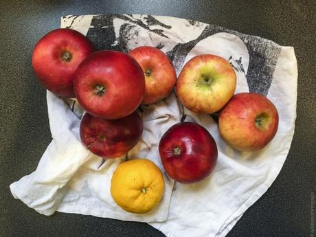 Le vrai luxe – Compote de pommes au yuzu frais