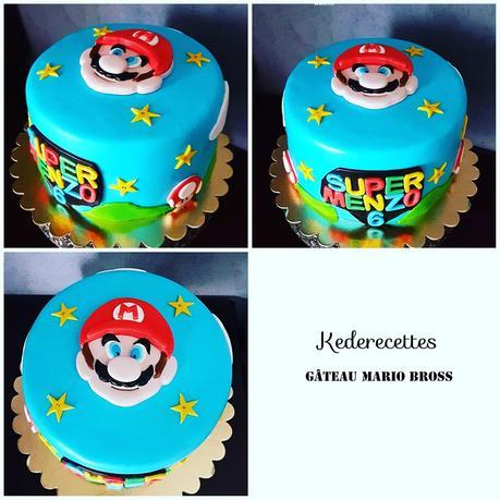Gâteau Mario Bross