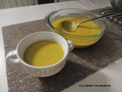 Soupe poireaux et navets