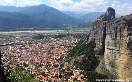 Mon itinéraire en Grèce
