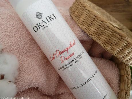 Lait démaquillant douceur Oraiki, un must have pour les peaux sensibles