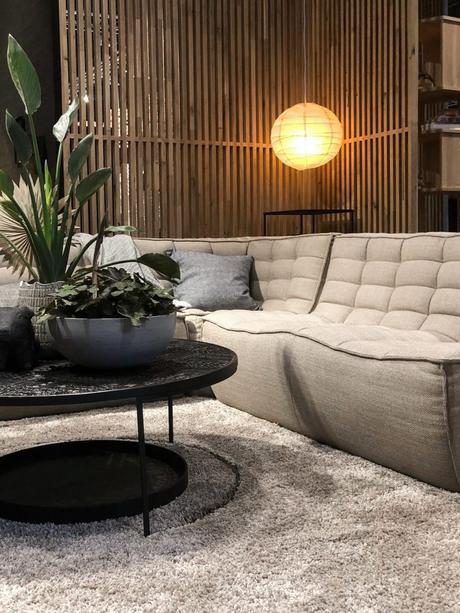 maison et objet janvier 2019 canapé angle design simple - blog déco - clem around the corner