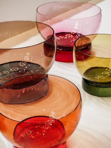 maison et objet janvier 2019 verre fumé vases bols couleurs - blog déco - clem around the corner