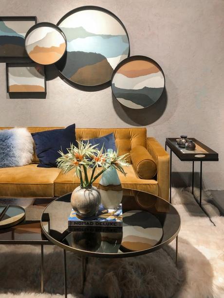maison et objet janvier 2019 velours jaune moutarde ocre design artsy - blog déco - clem around the corner