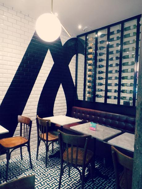 King Marcel burger restaurant paris rue Lafayette