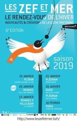 Les Zef et Mer au Complexe Culturel Le Cap - Plérin ( FR) - le 19 janvier 2019 - part 1