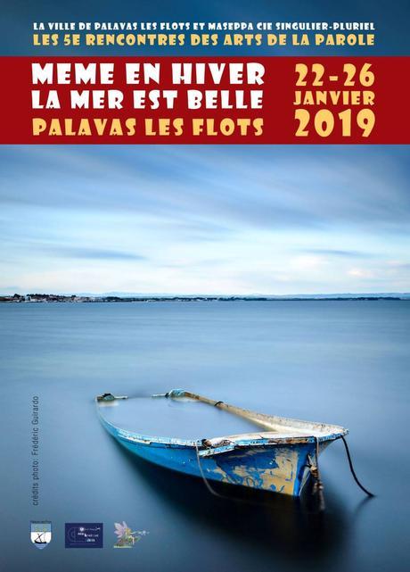 PALAVAS – 5e rencontres des ARTS de la PAROLE – 25/26 janvier