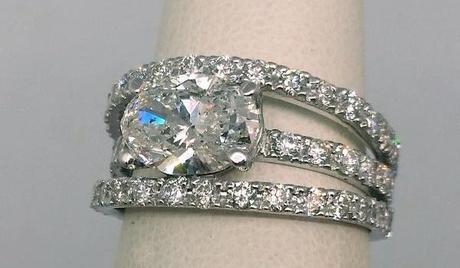 grosse bague diamant pour fiancailles a plus de 5000 euros et moins de 10 000 euros