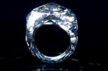 bague tout en diamant du joaillier suisse shawish