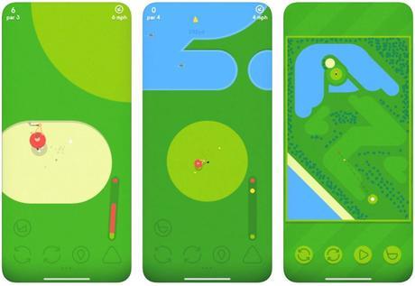 Jeu du jour : Golfing Around (iPhone & iPad – gratuit)