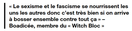 Vive le Witch Bloc !
