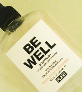 Le Gel douche BE WELL de PLANT