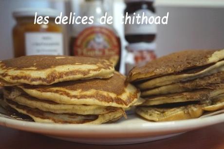 pancakes aux flocons d'avoine (au i-cook'in ou pas)