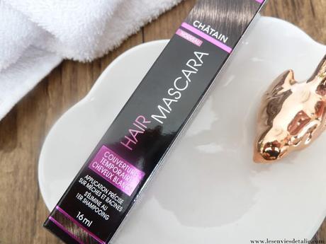 Camoufler cheveux blancs et racines avec le Hair Mascara de Schwarzkopf