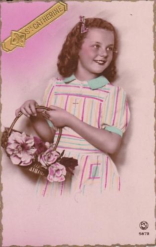 cartes,voeux,fêtes,années 40,souvenirs,culture