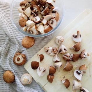 La ficelle picarde (crêpe jambon et champignons)