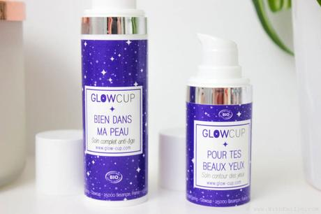 La routine soins Bio de GlowCup : des crèmes alliées à des ventouses pour le visage.