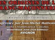 [AVIGNON après-midi Fonséca] Conférence origines franc-maçonnerie