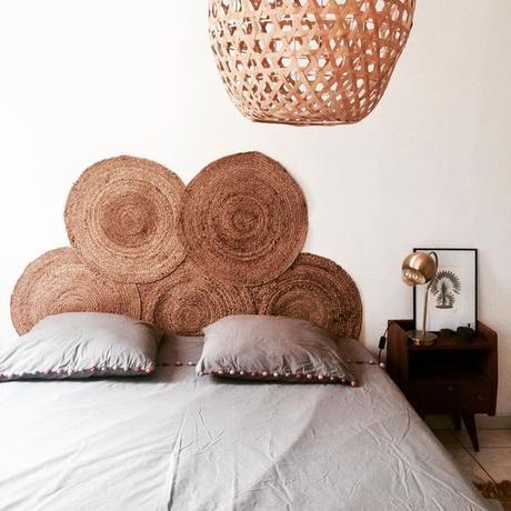For my home #29 / idées déco : 10 têtes de lit faciles à faire /