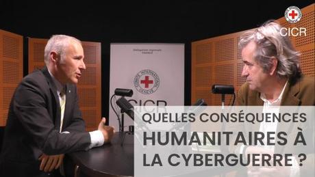 «Conversation avec…» Laurent Gisel, conseiller juridique du CICR à propos des conséquences humanitaires de la cyberguerre