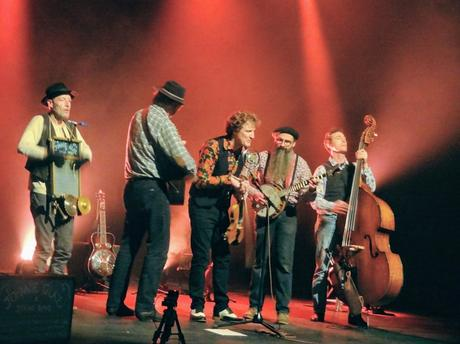 The Johnnie Glaz String Band à la Grande Ourse, Saint-Agathon, le 27 janvier 2019