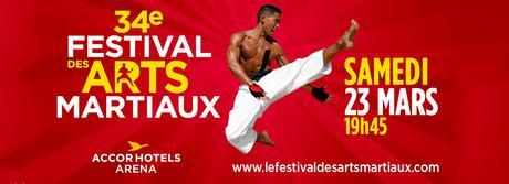 34ème Festival des Arts Martiaux à l'AccorHotels Arena