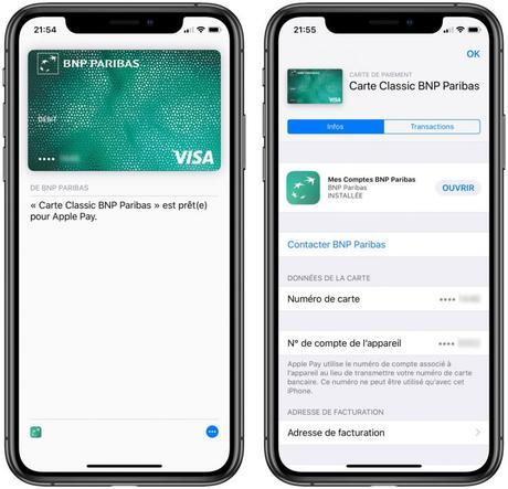BNP Paribas & Hello Bank arrivent sur Apple Pay