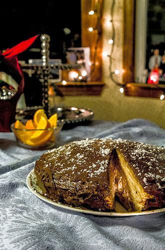 gâteau de crêpes moka tiramisu, en millefeuille, fête des crêpes