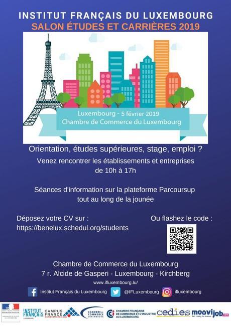 Le salon «Etudes et Carrières» revient au Luxembourg