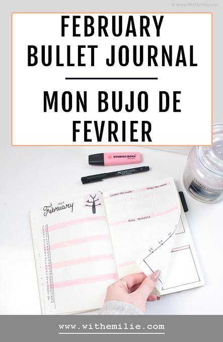 Mon Bullet Journal de Février