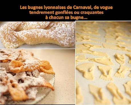 Recette de bugnes lyonnaises de la Chandeleur, Mardi-Gras et Carnaval