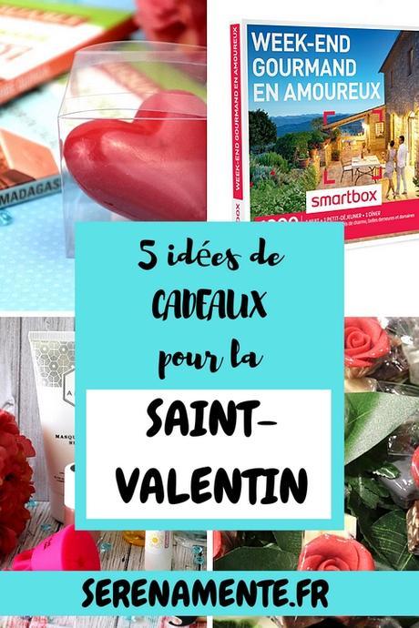 Mes 5 idées de cadeaux pour la Saint-Valentin ! Pour Elle & Lui