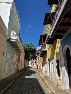 Visite de San Juan, Puerto Rico