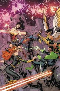 JUSTICE LEAGUE ANNUAL #1 : IL FAUT SAUVER L'UNIVERS!