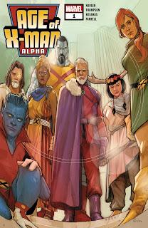 AGE OF X-MAN ALPHA : LE MONDE SELON NATHE GREY