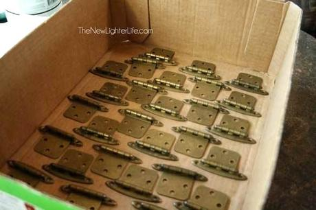 spray paint cabinet hinges hinges before spray painting the cabinet spray paint cabinet hinges bronze
