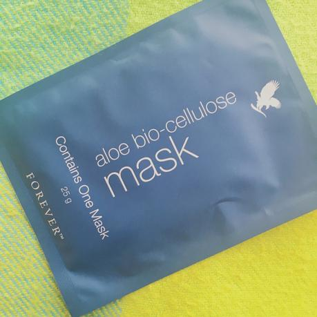 Le Masque à l'Aloe Bio-Cellulose Forever Living