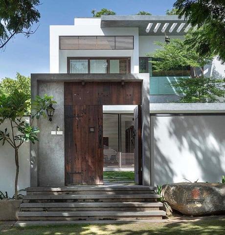 villa tropicale loft Inde - blog déco - clem around the corner.