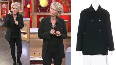 AFFAIRE CONCLUE : la veste noire de Sophie Davant