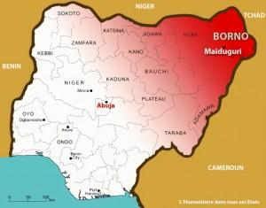 Nigéria : à nouveau la violence du conflit dans l'Etat de Borno force à fuir des milliers de personnes