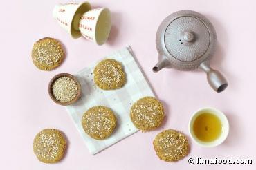 Biscuits bio au Shiro Miso et au sésame
