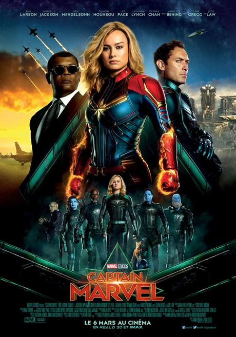 Bande annonces et photos Captain Marvel
