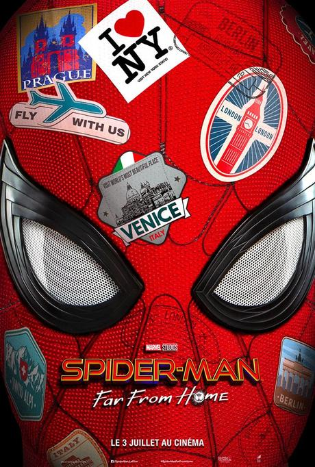 Bande annonce et photos Spider-Man Far From Home