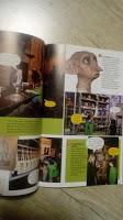 Point presse n°1: présentation de magazines en anglais pour toute la famille.