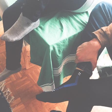 Les chaussettes MP Magic Socks qui ont fait un Carton sur Kickstarter