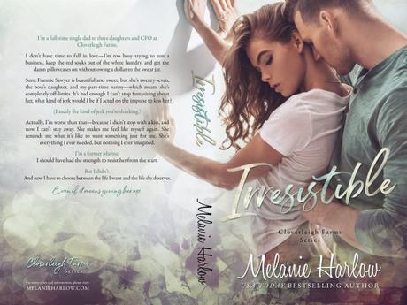 Cover Reveal – Découvrez la couverture de Irresistible de Melanie Harlow